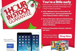 Walmart-Black-Friday-2013-iPad-Mini-guaranteed-in-stock