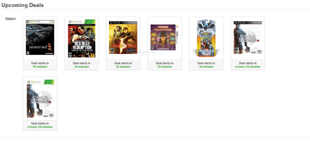 Amazon will offer discounts on tons of titles including these.