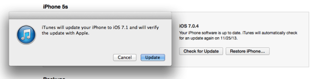 Find an iOS 7.1 beta 1 download and install it without restoring.