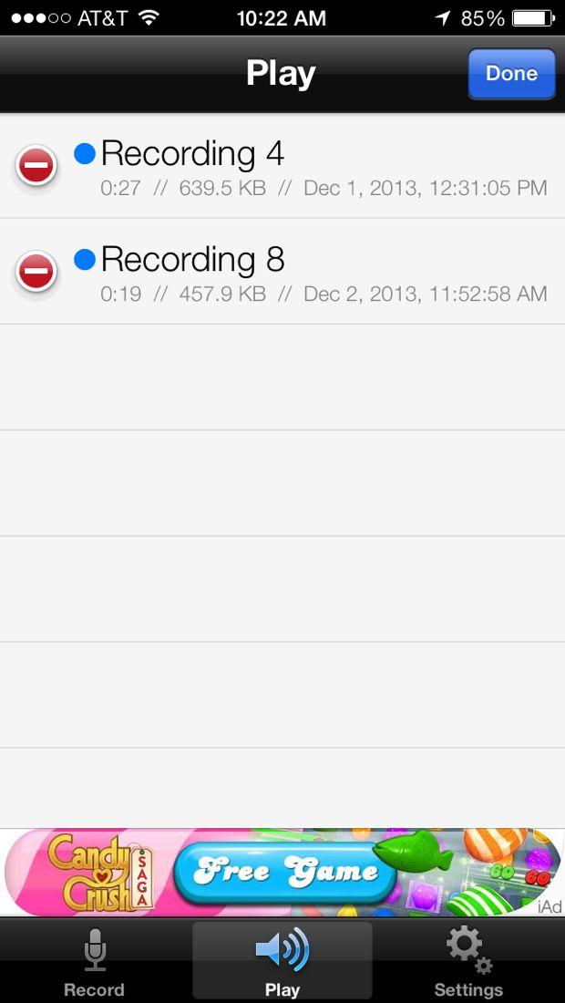 reclouder file list