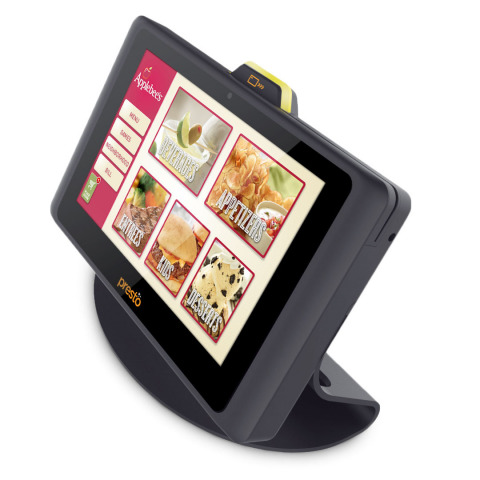 Presto tablet used by applebees