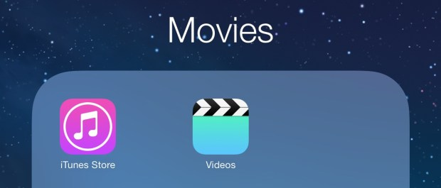 Go to iTunes on the iPad to rent a movie.