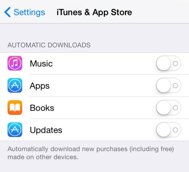 iTune & App Store_Auto-update