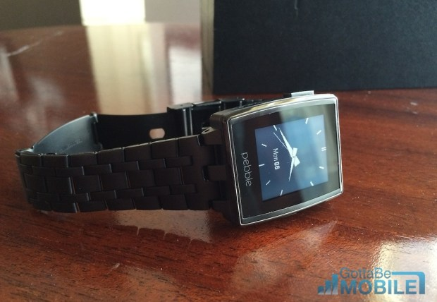 Pebble Steel Hands On -  011-XL