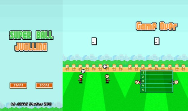 The man who made Flappy Bird also created an addictive game called Super Ball Juggling.