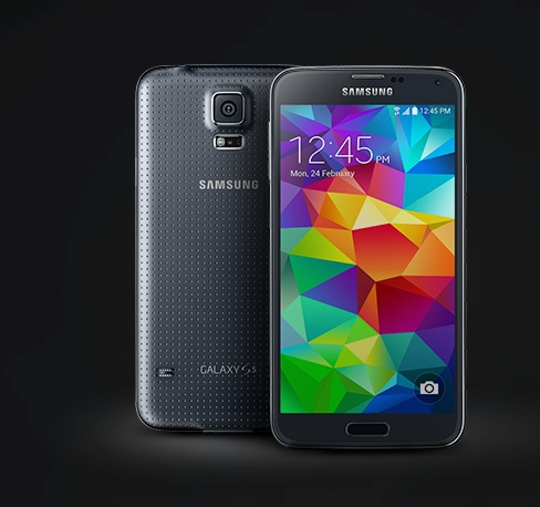 Here is the Galaxy S5.
