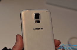 The Galaxy S5 has a 16 megapixel camera