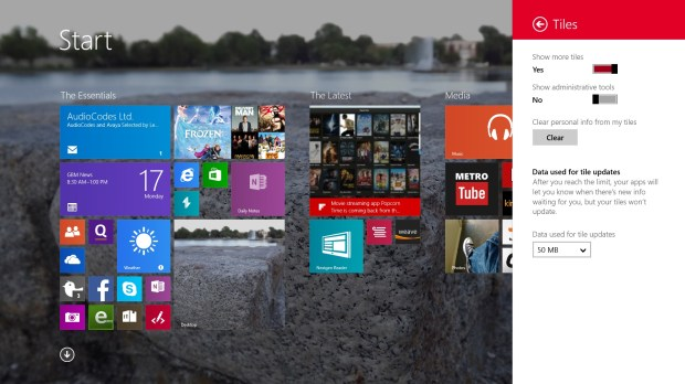 How to Add More Space for Live Tiles in Windows 8 (5)