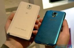 Samsung Galaxy S5 vs Galaxy Note 3 - 5-L