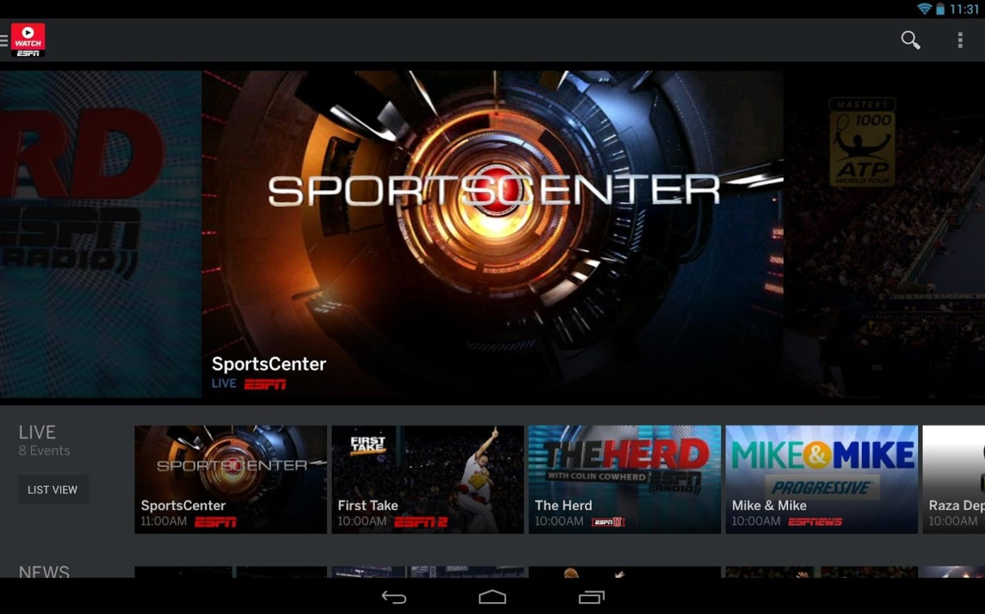 Phone How To Watch Live Football On Android Phone how to watch 2015 college football bowl games on android watchespn has tons of information news highlights and course live streams works with the google chromecast as well mirror what3