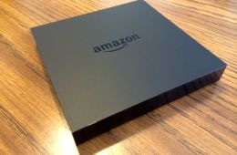 Amazon fireTV streaming media box