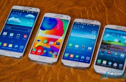 Samsung Galaxy S5 vs Galaxy S4 vs Galaxy S3 -  Display