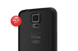 The Verizon Galaxy S5 pre-orders are live.