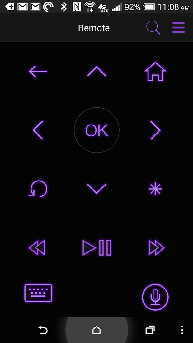 roku remote app on android