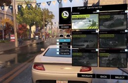 Accept a Watch Dogs driving mission to earn cash.