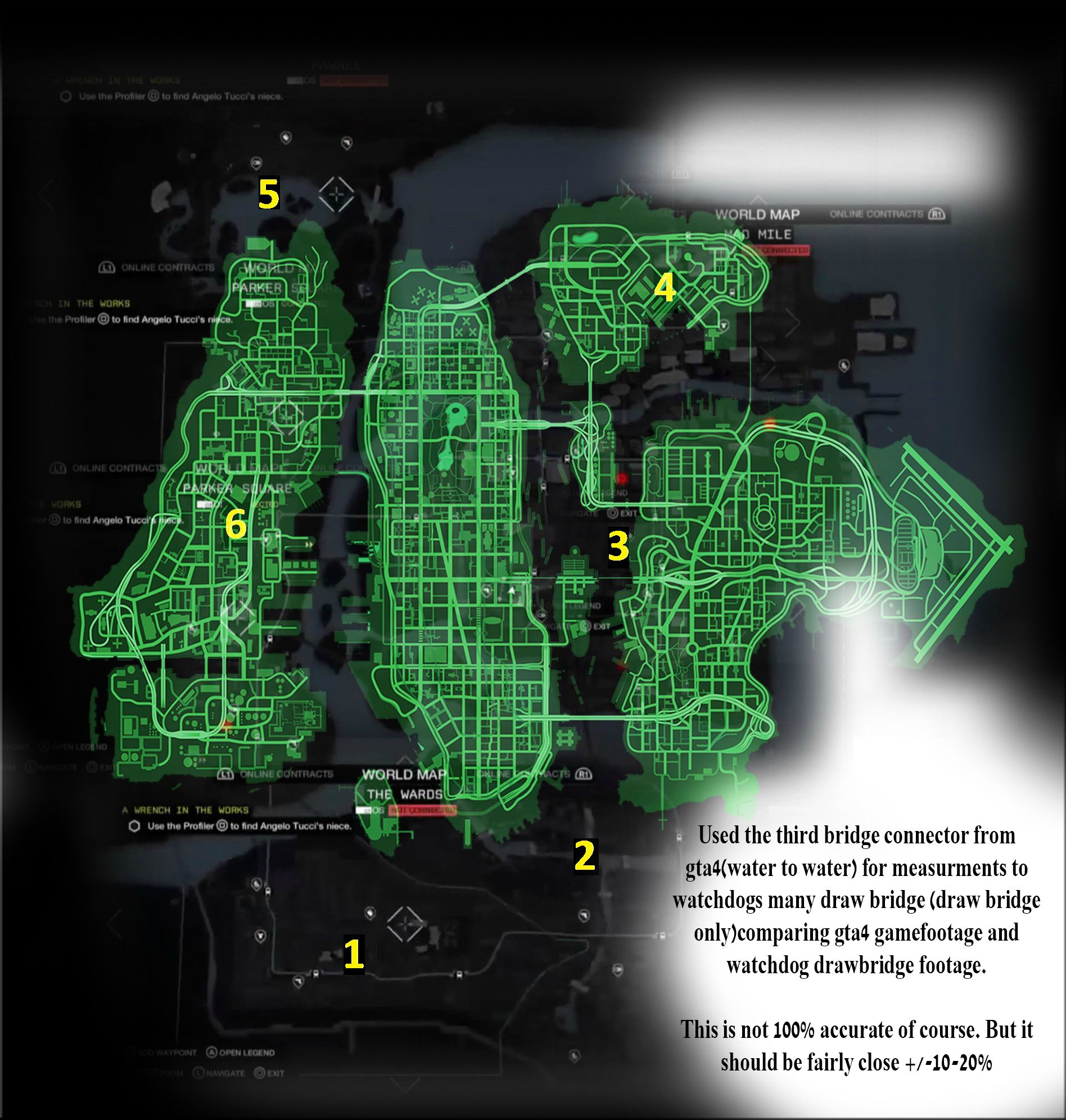 Watch Dogs Chicago Map