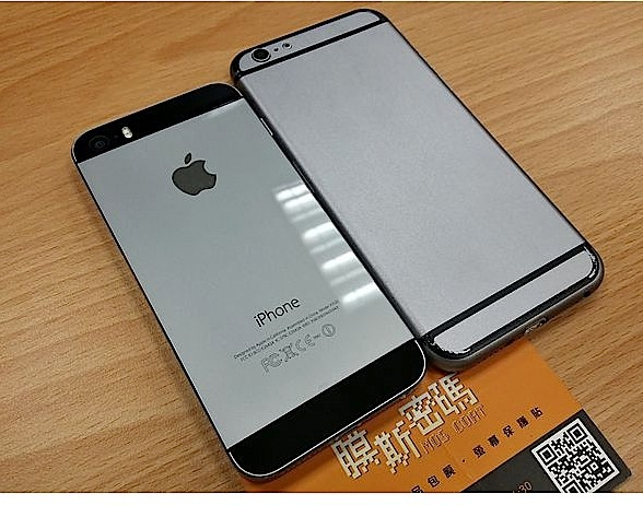 A new mockup shows the iPhone 6 vs iPhone 5s in over 100 photos