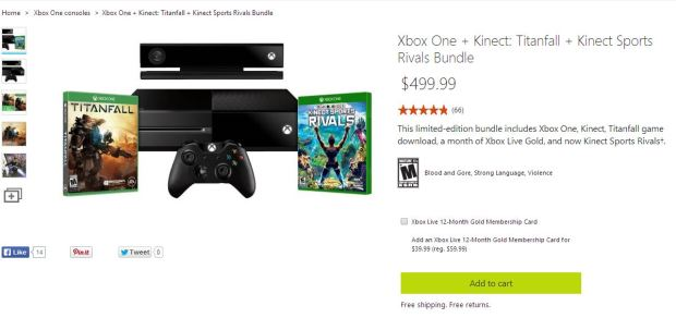 Xbox ONe aMicrosoft Xbox One Bundle
