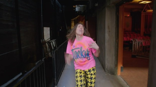 The Weird Al Tacky video and Weird Al Word Crimes kick off a new album to compete with YouTube parodies.