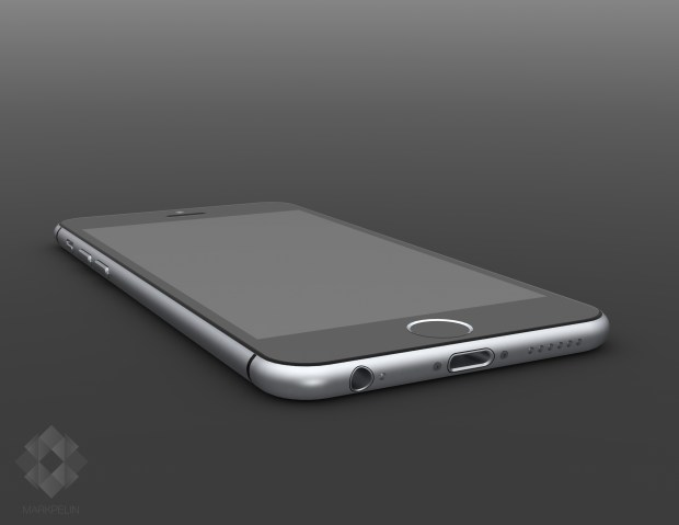 These iPhone 6 renders mirror iPhone 6 rumors.