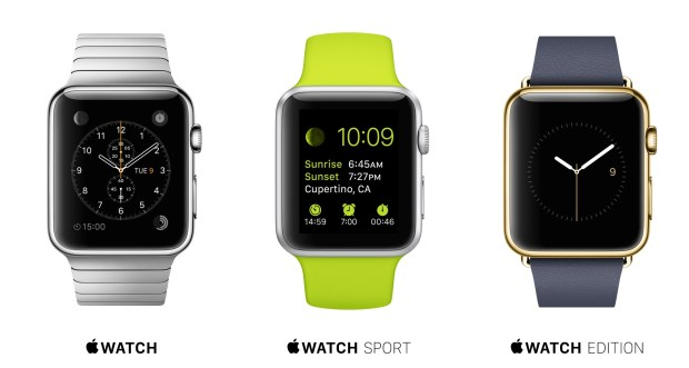 Here's what you need to know about the Apple Watch release, features and design.