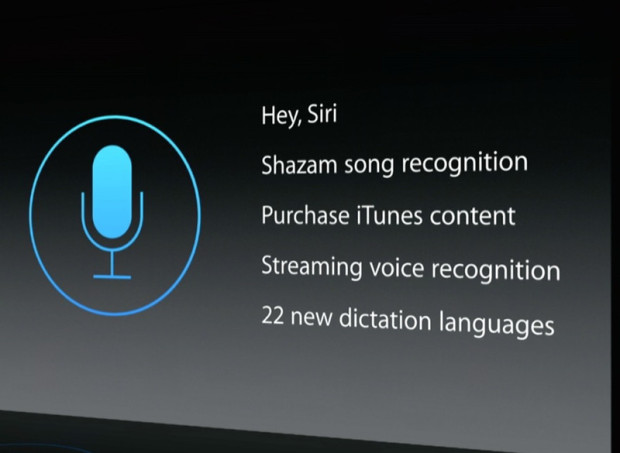 hey siri voice control