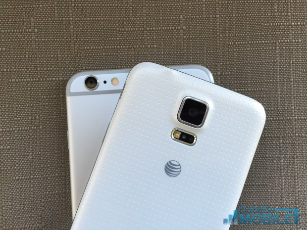 Users may find the iPhone 6 plus camera delivers better photos, even though the Galaxy S5 includes more options.