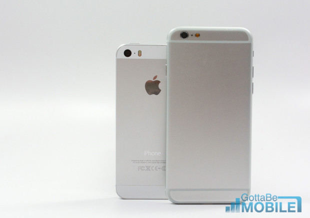 Here's how the iPhone 6 vs iPhone 5s size stacks up.