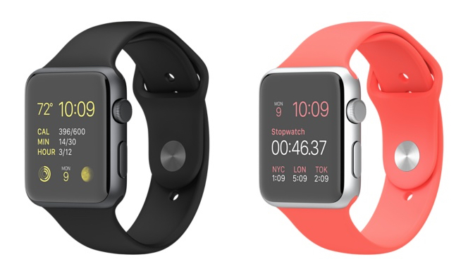 Pick your favorite Apple Watch color.