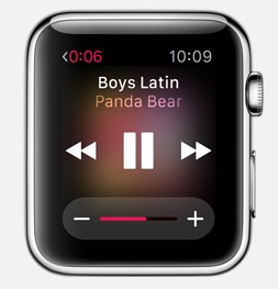 Play music on the Apple Watch without an iPhone.