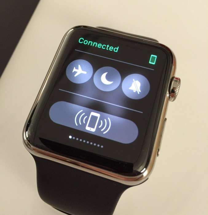 Use Do Not Disturb on the Apple Watch.