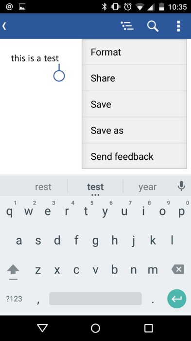 How to Use Microsoft Office Mobile on Android (5)