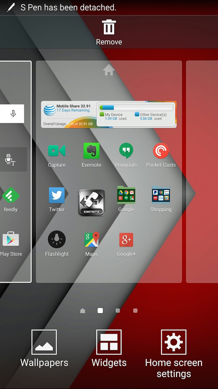 home screen settings samsung galaxy note 4