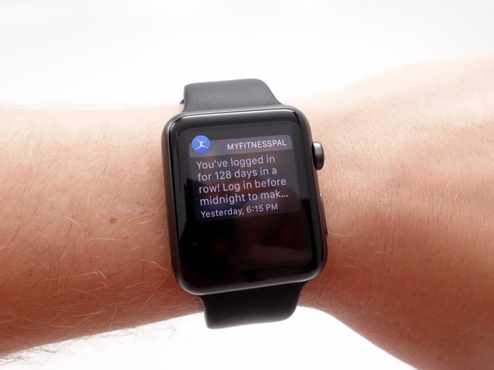 Notifications deliver information you need immediately, glances offer details that you might need.