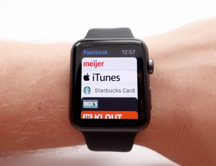 Passbook on the Apple Watch is even more convenient than on the iPhone.