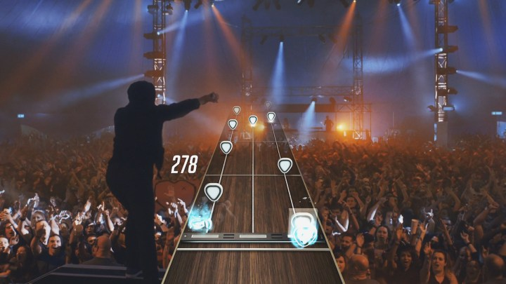 Listen the the new Guitar Hero Live songs.