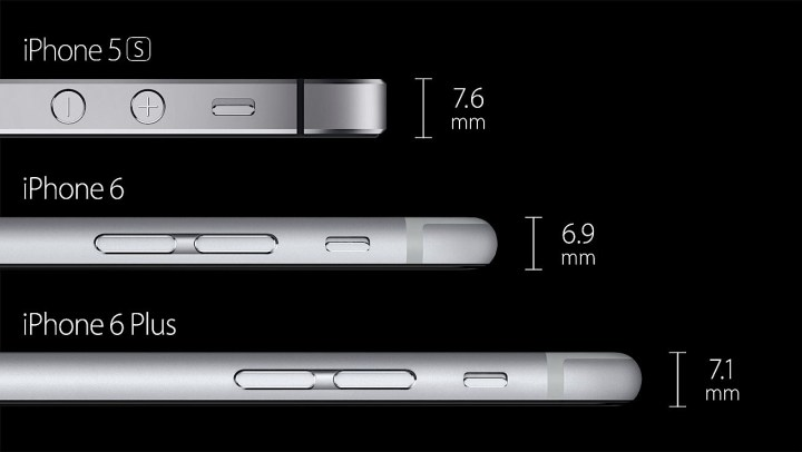 We could see an iPhone 6s that is as thick as the iPhone 6 Plus.