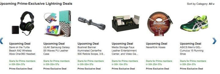 Research the Amazon Prime Day deals schedule.