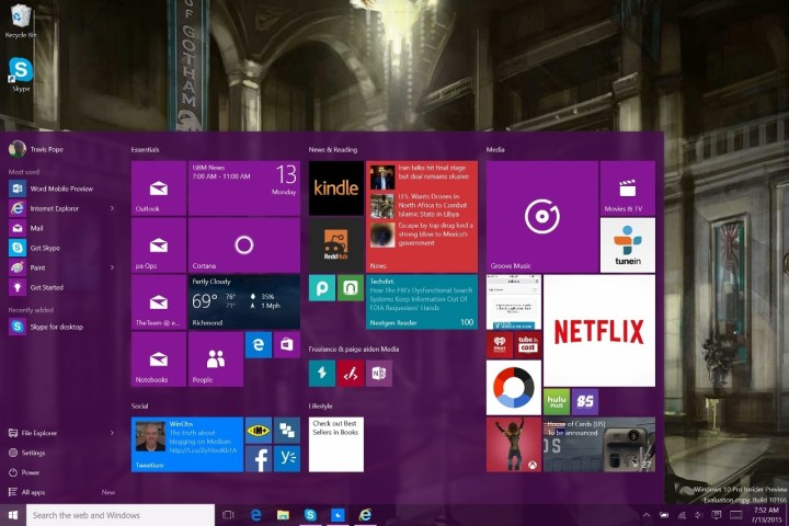 How to Bring Back the Start Screen in Windows 10 (6)