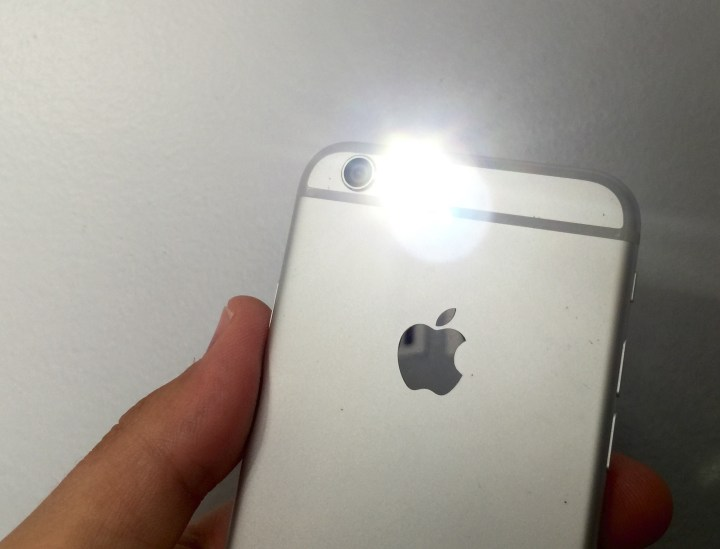Do not use the flash when taking fireworks pictures on the iPhone 6 or iPhone 6 Plus.