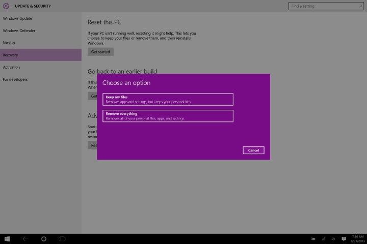 How to Reset a Windows 10 PC (8)