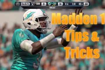 Use these Madden 16 tips and tricks to become a better player without the need for Madden 16 cheats.