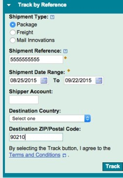 Find iPhone 6s tracking number - 1