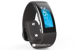 Leaked photos of the Microsoft Band 2 sent to Microsoft Insider, allegedly.