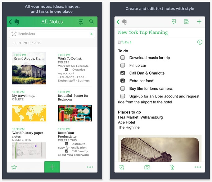 how to use evernote on samsung note 3