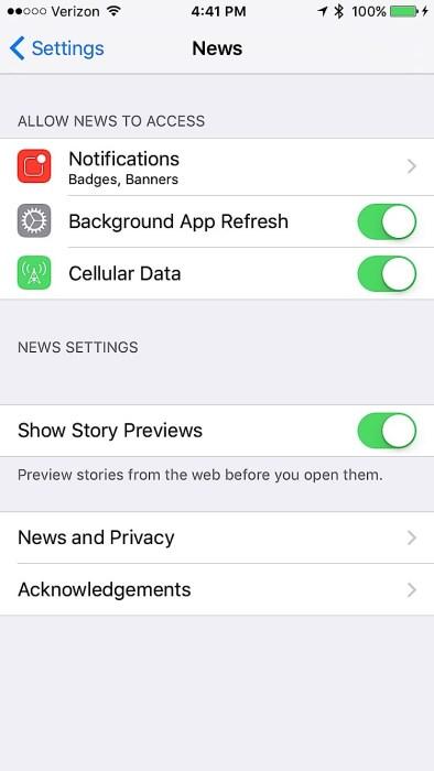iOS 9 Settings to Change - 8