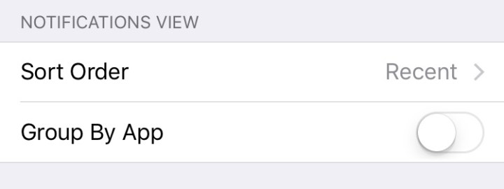 iOS 9 tips Notifications