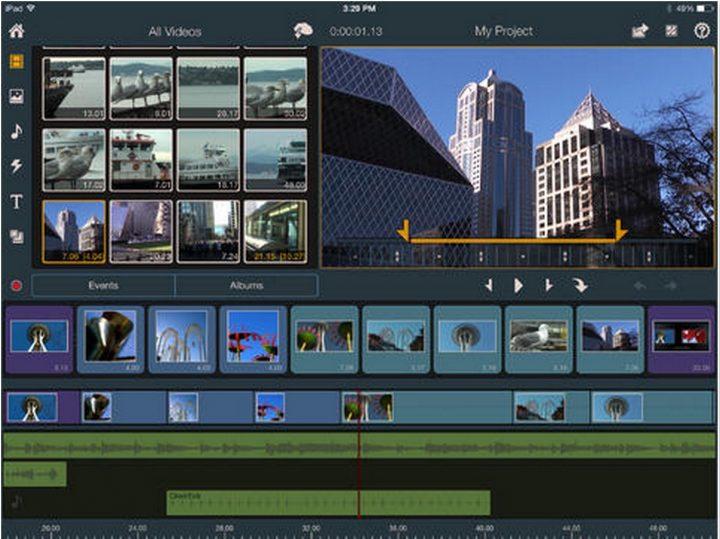pinnacle studio ipad app for movie editing