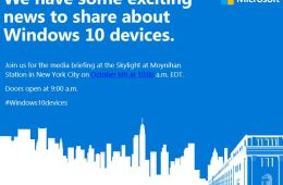 windows 10 devices event