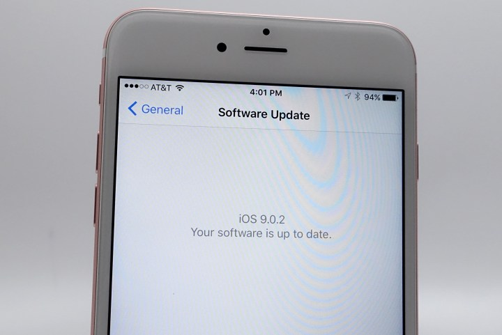 iPhone 6S Plus iOS 9.0.2 - 5